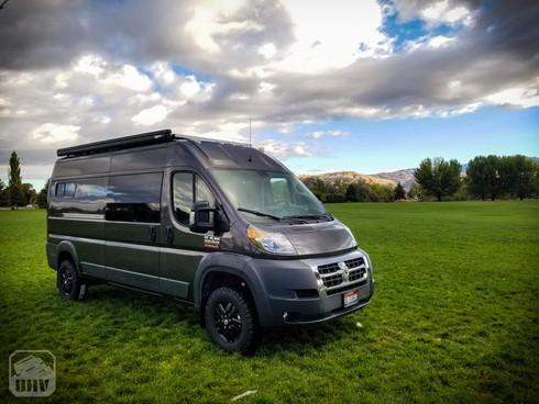 Promaster Van Camper Outside Build
