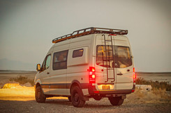Sprinter Van Camper Rear Pop-out