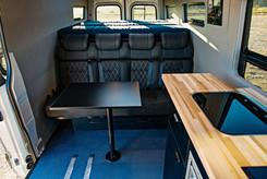 Sprinter Van Camper Kitchen Table Setup