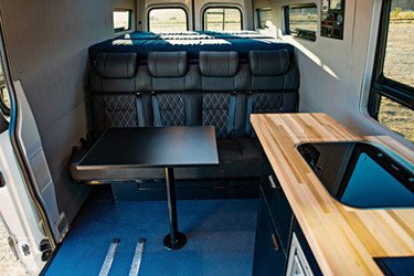 2019 Sprinter Van Camper Dining Area