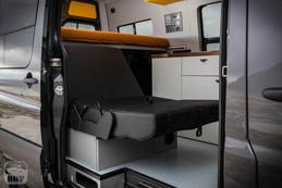Sprinter Van Camper Convertible Bed