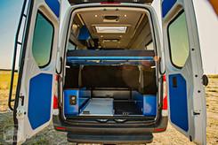 Sprinter Van Camper Rear Build Out