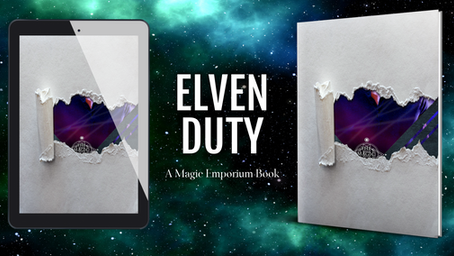 Elven Duty - Cover Reveal and an Exclusive Excerpt