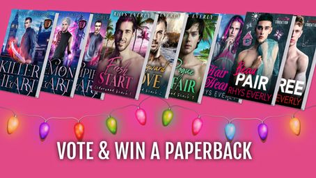 Vote for your favorite couple/Win a Paperback!