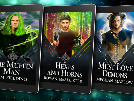 Magic Emporium - Books 4 to 6 & Giveaway