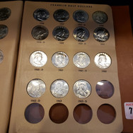 FRANKLIN COIN SET