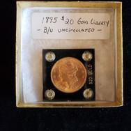 1895 $20 GOLD COIN