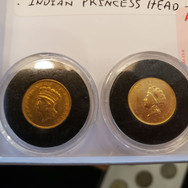 ONE DOLLAR GOLD COINS