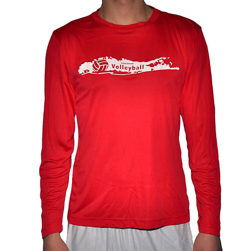 LIVball Red Long Sleeve