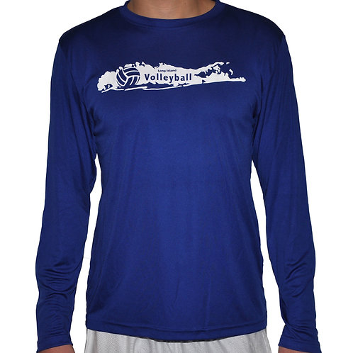 LIVball Royal Blue Long Sleeve
