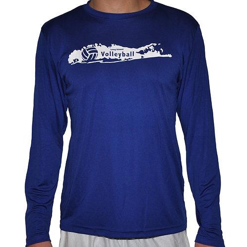 LIVball Royal Blue Long Sleeve