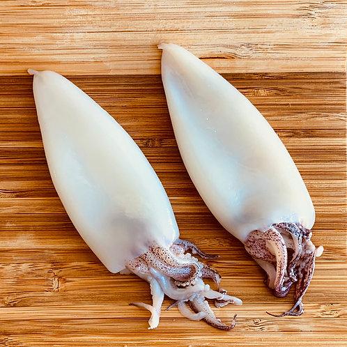 Calamari Tubes and Tentacles (1 Lb)