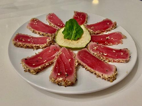 Seared Tuna Tataki Sliced (8 oz)