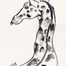 Giraffa (kr. 1500,-)