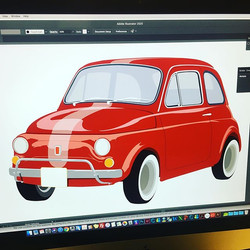 Vektor Work - Fiat 500 ❤️ #fiat500 #vekt