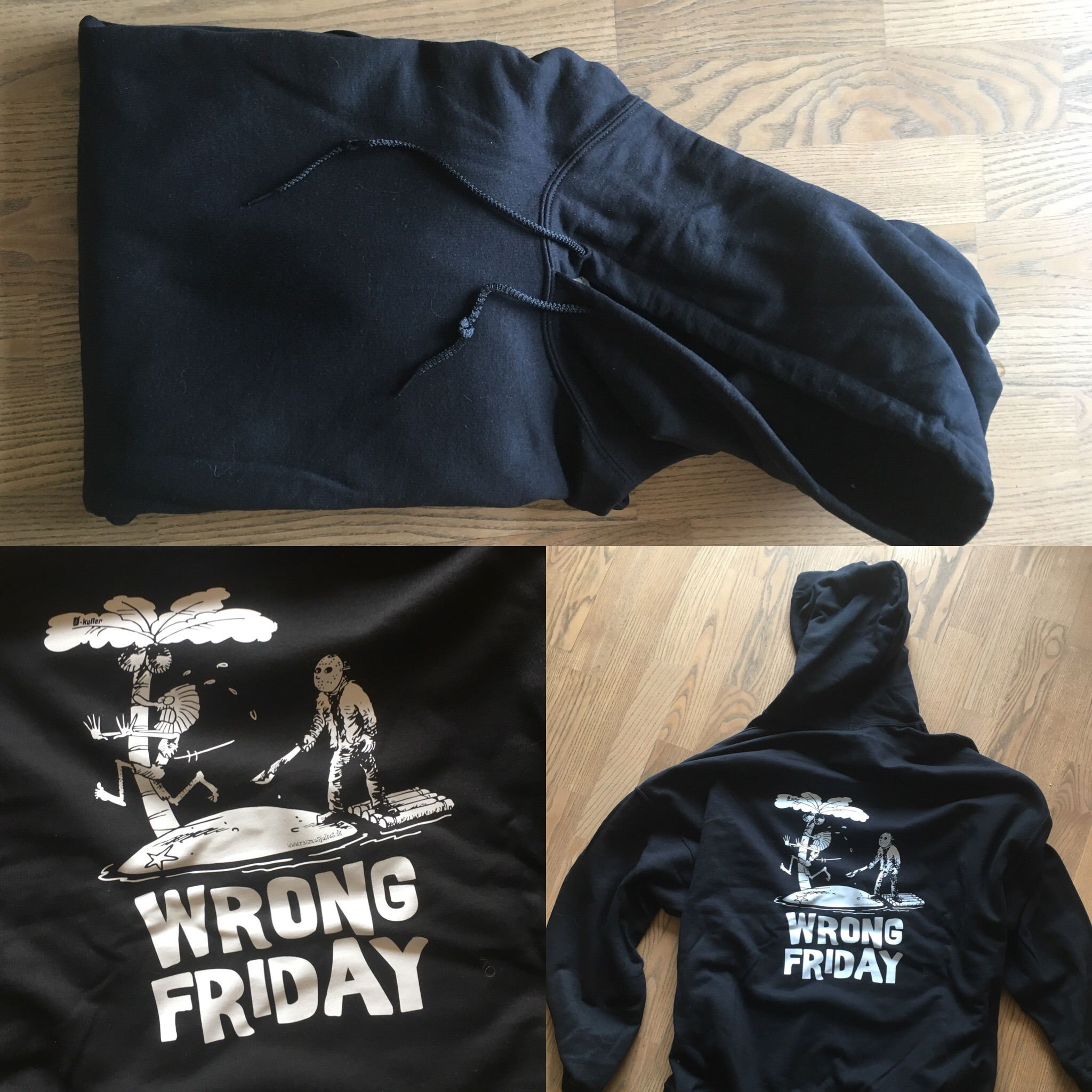 Wrong Friday Hoodie