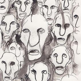 Ansigter (kr. 500,-)
