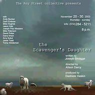 The Scavenger's Daughte Poster