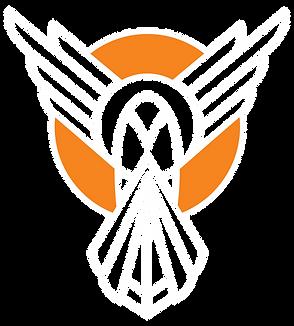ECDCo Bird White Orange