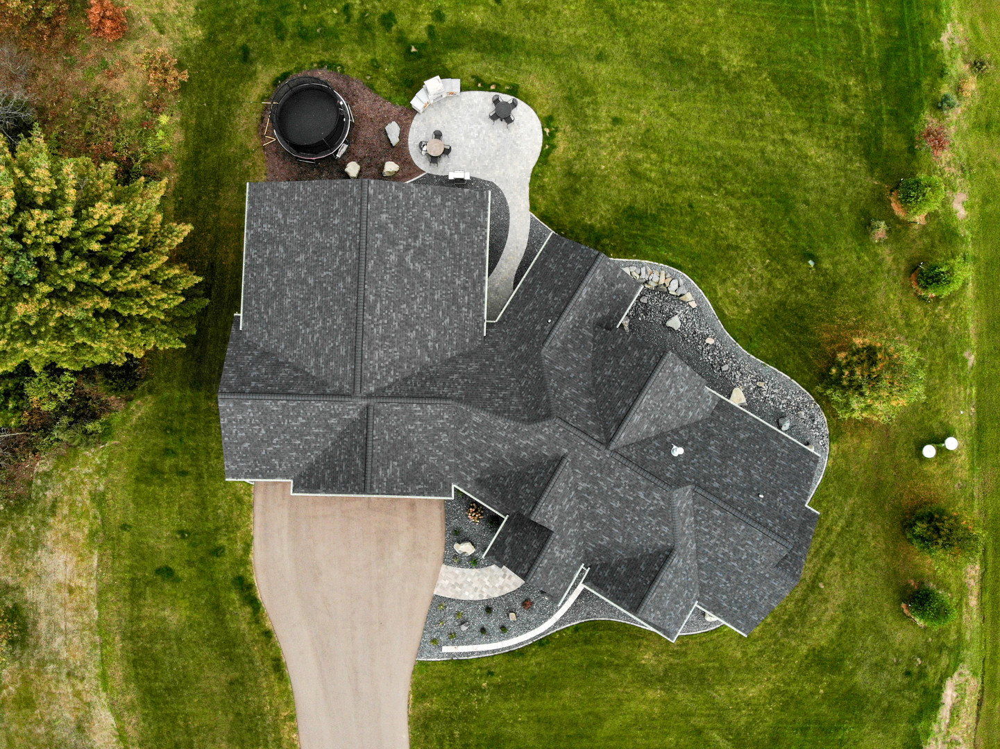 Bird's Eye View Roof