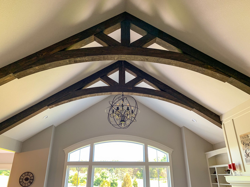 Arched Timber Trusses