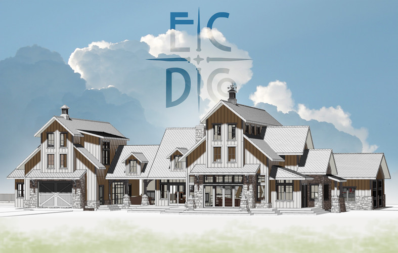 Custom Home: Industrial Farmhouse