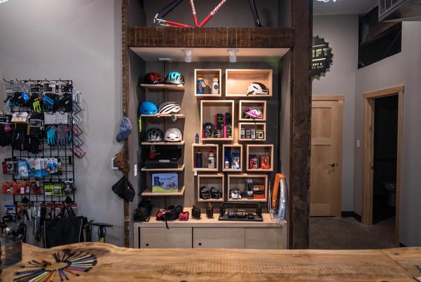 Shift Custom Merchandise Shelf
