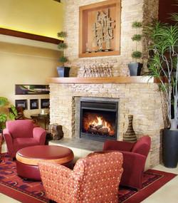 Hotel Fireplace