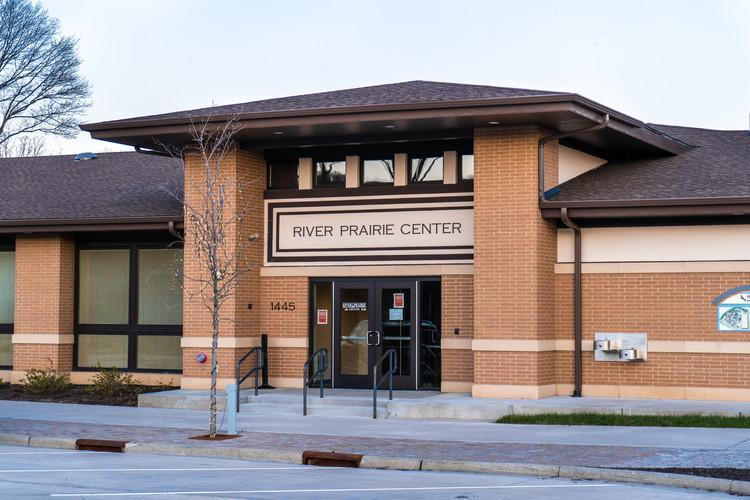 River Prairie Center Entrance