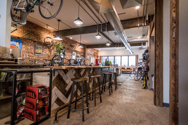 Shift Bike Repair Counter