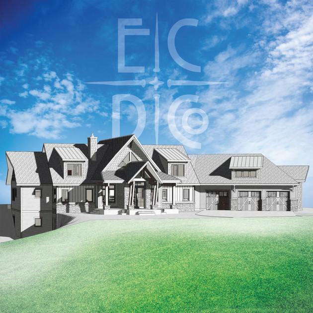 Grand Teton Home Rendering