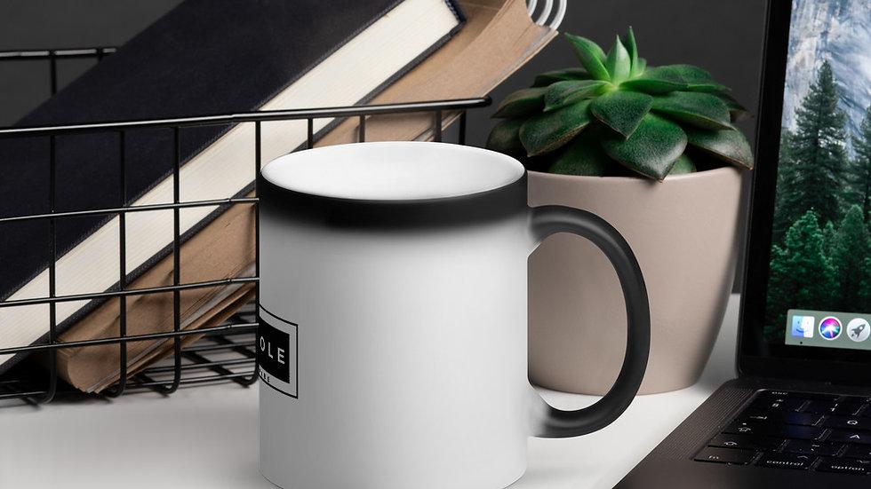 Matte Black Magic VAXHOLE Mug