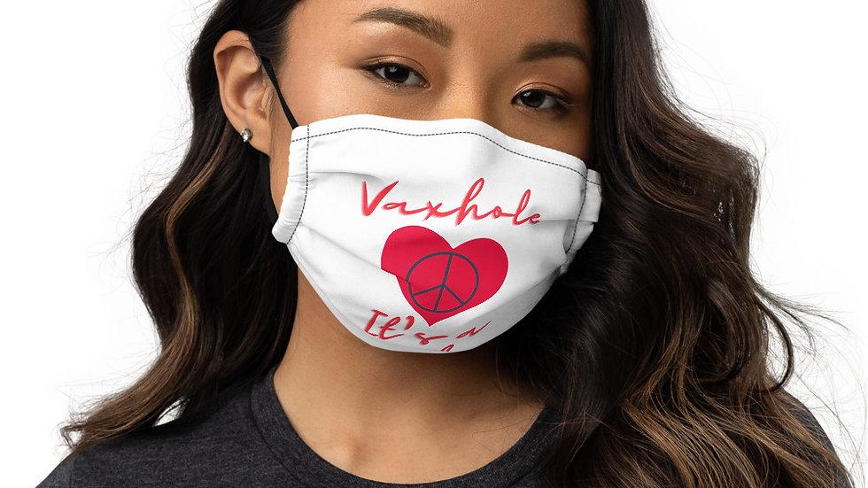 VAXHOLE it's a vibe face mask