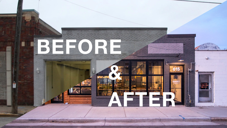 Shift Before & After