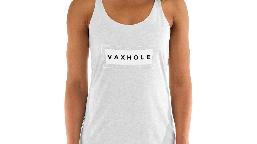 VAXHOLE Women's Racerback Tank