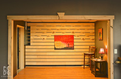 Custom Interior Slat Wall
