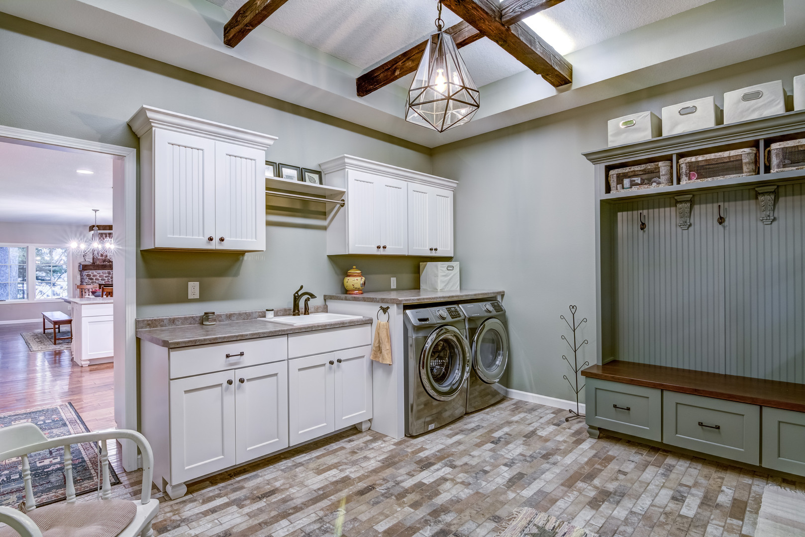 Mudroom & Laundry Remodel