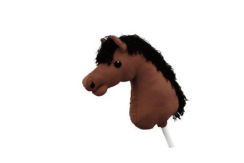 Färdigsydd käpphäst: Kastanj