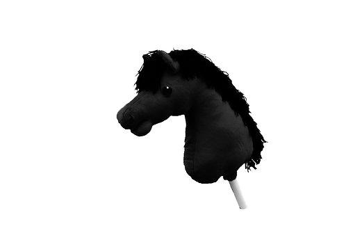 Färdigsydd Käpphäst: Svart