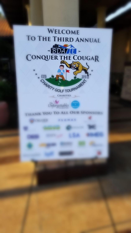 Conquer the Cougar