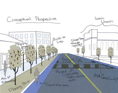 Complete Streets Redesign, Montgomery