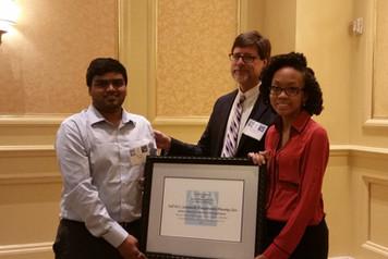 Students receiving AL-APA award