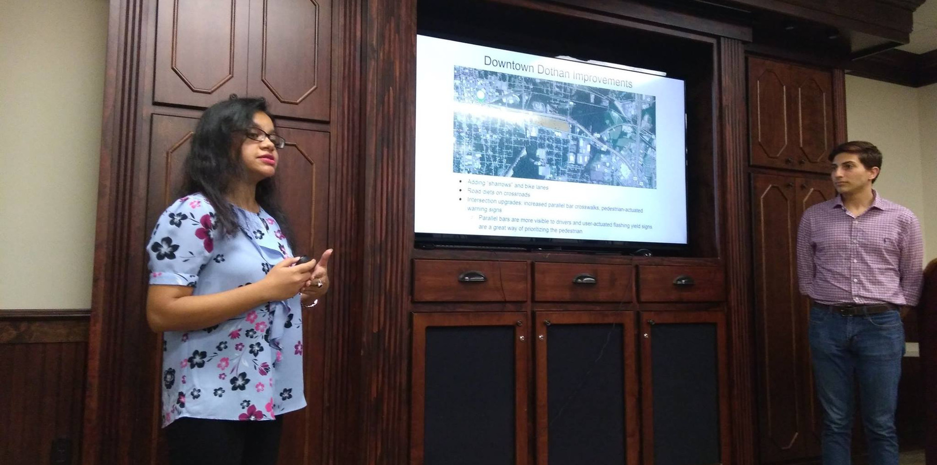 Presentation in the City Hall