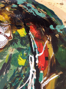 'Primavera' (detail) by Danielle Taylor
