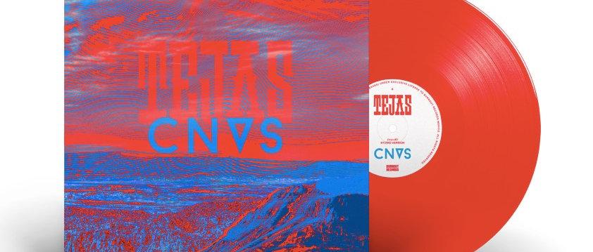 """PRE- ORDER / """"Tejas"""" Single  - CNVS / 7"""" COLOR vinyl 45 RPM Special Edition"""