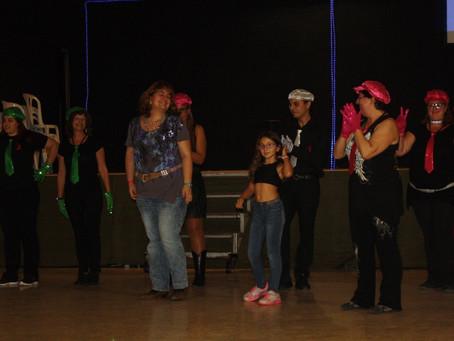 Presentación del Club Esportiu Dance La Torre en el Torrewestern de Torredembarra