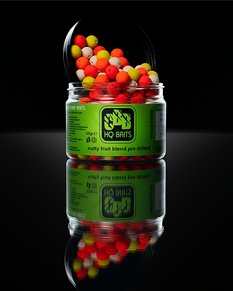 NUTTY FRUIT BLEND - MINI BOILIES - 10 MM - 100 GR