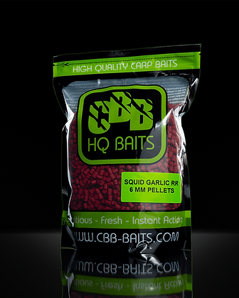 SQUID GARLIC ROBIN RED  - PELLETS - 3/6/8 MM