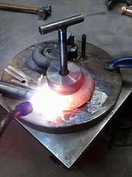 heating bending steel torching oxy acetylene torches cutting