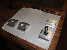 sportster riser adapters production milling threaig tapping holes